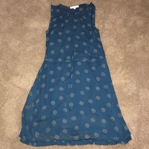 LOFT Sleeveless Mid Length Dress-
